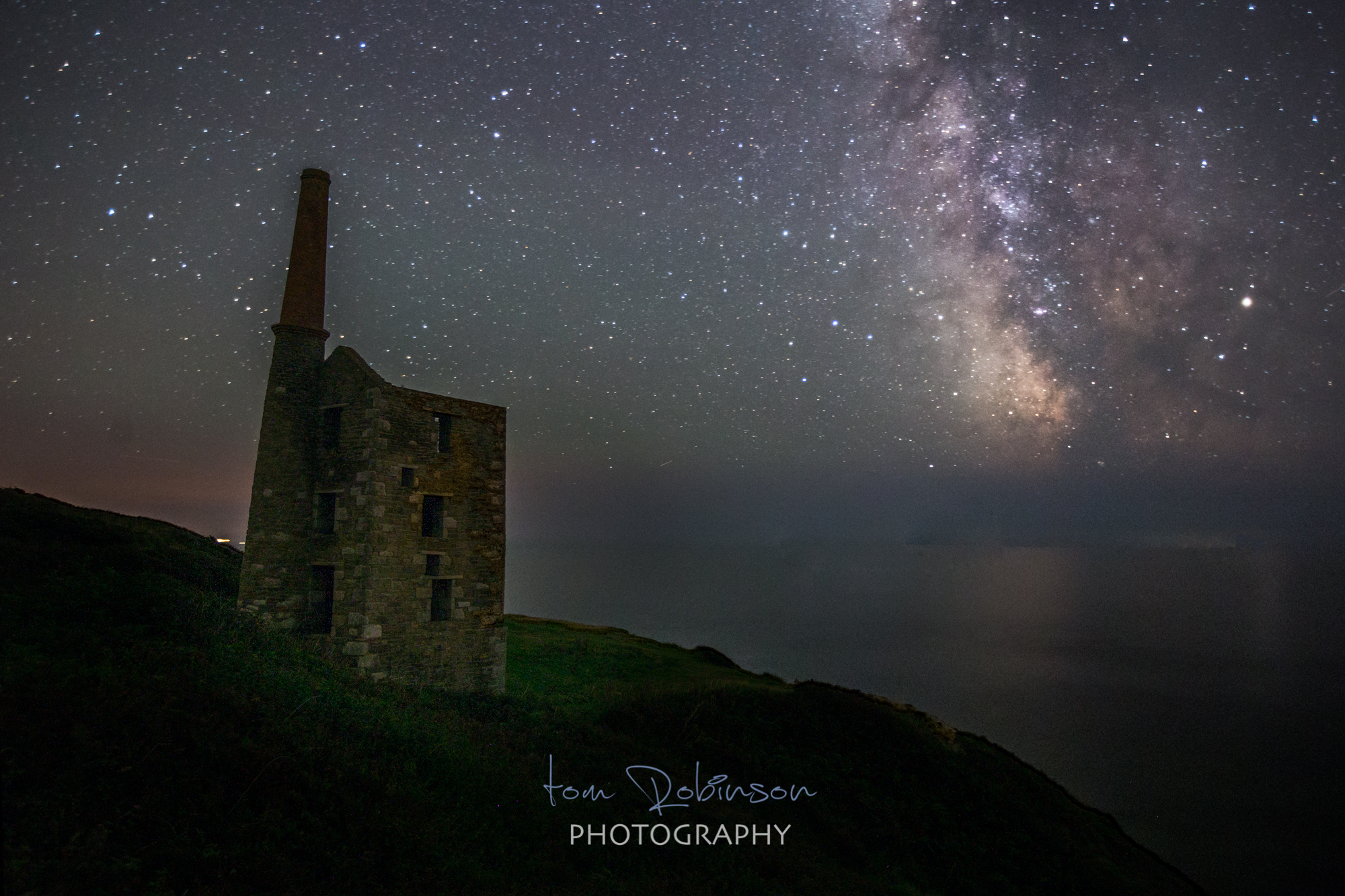 Rinsey by night from the Cornwall by night collection by Tom Robinson Photography