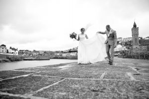 Wendron church wedding, wedding photographer Cornwall, St Michaels hotel and spa wedding