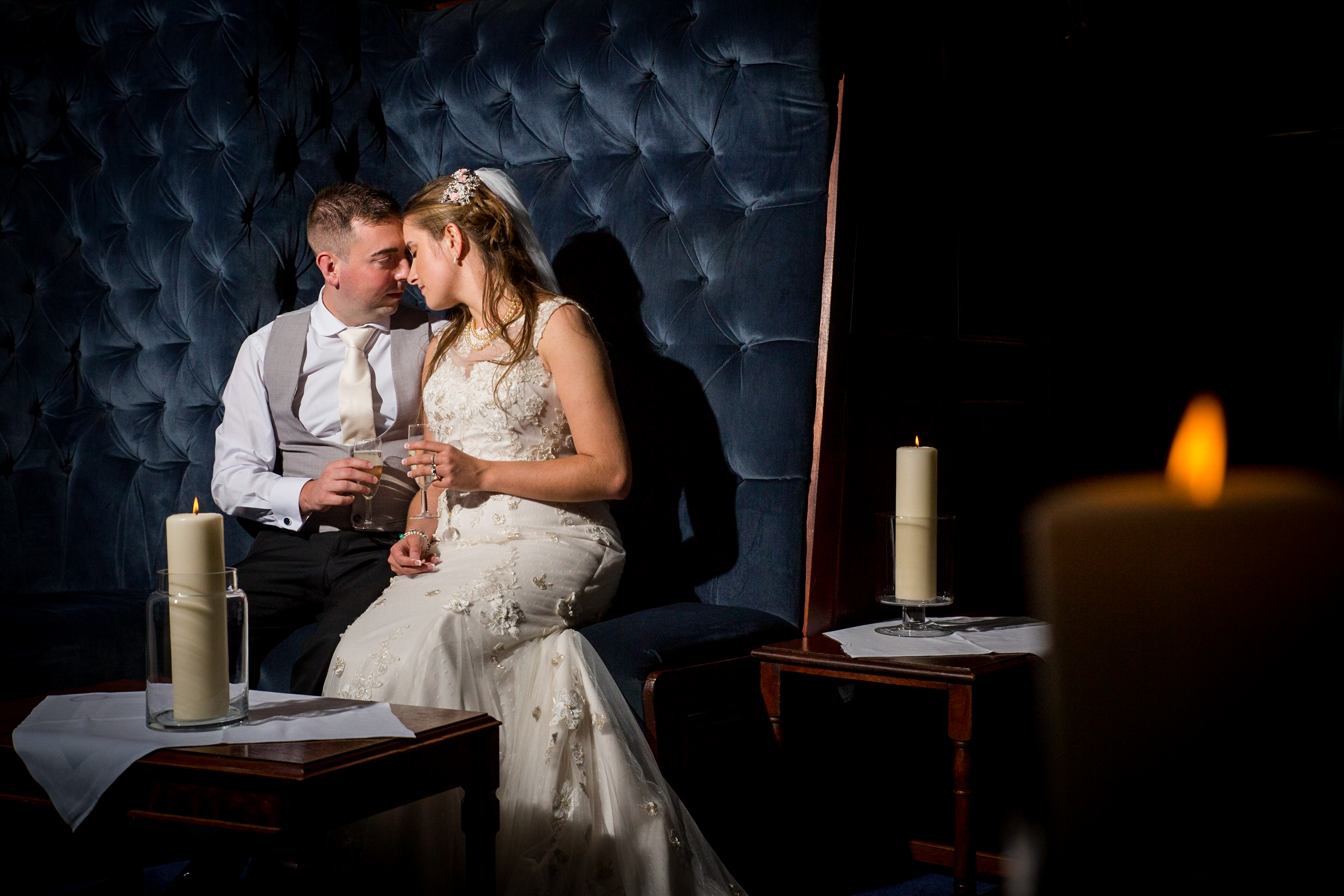 Atlantic hotel wedding by Tom Robinson Photography Cornwall wedding photographer