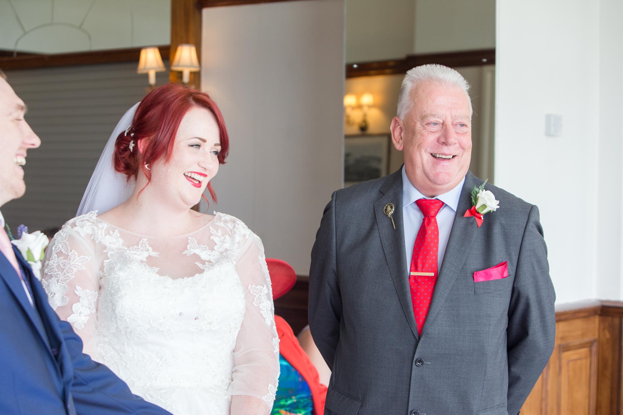 Falmouth hotel wedding by Tom Robinson photography Cornwall wedding photographer
