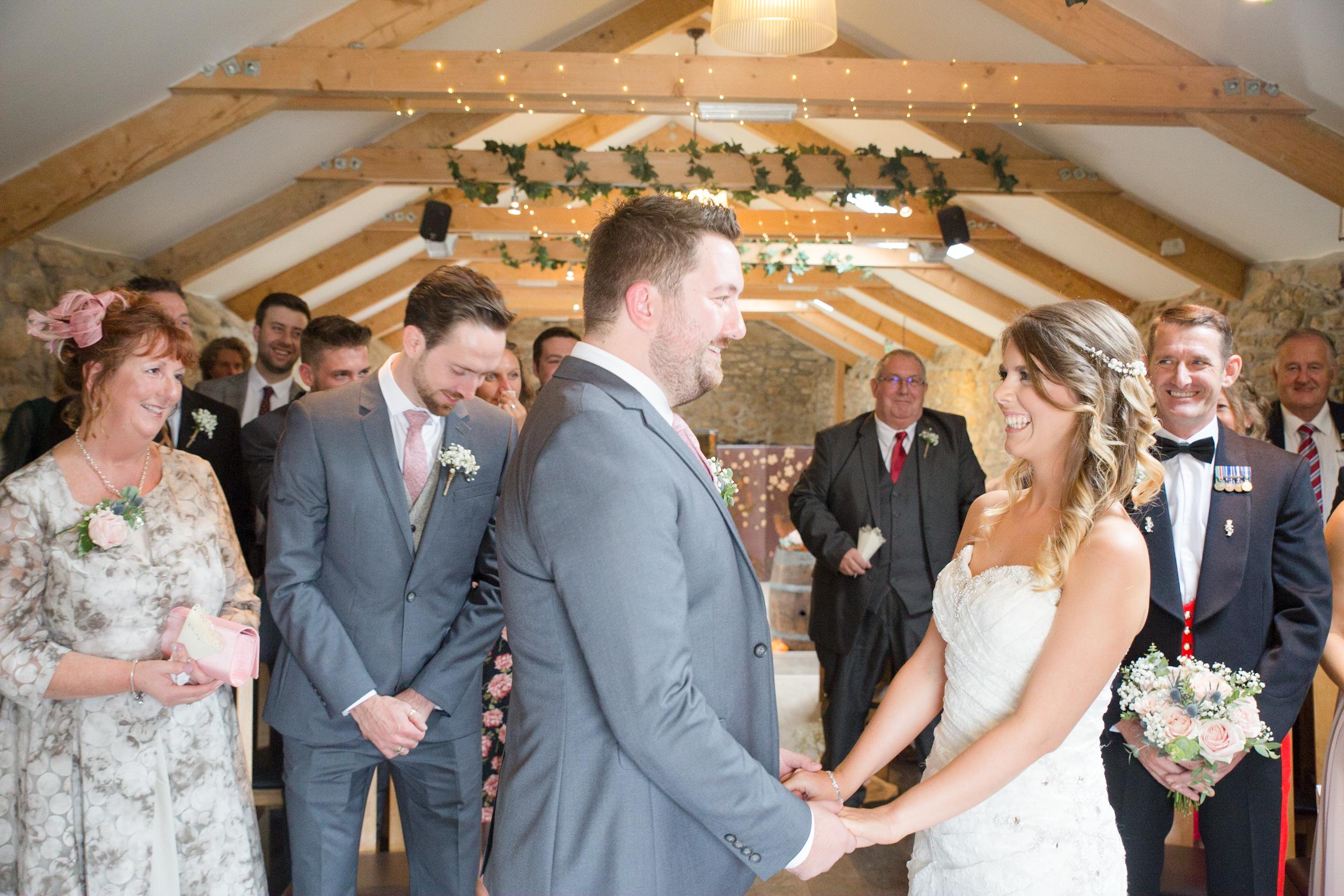 Knightor winery wedding by Tom Robinson Photography Cornwall wedding photographer