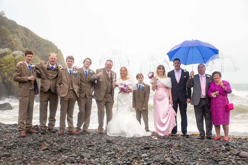 cadgwith wedding by Tom Robinson photography Cornwall wedding photographer