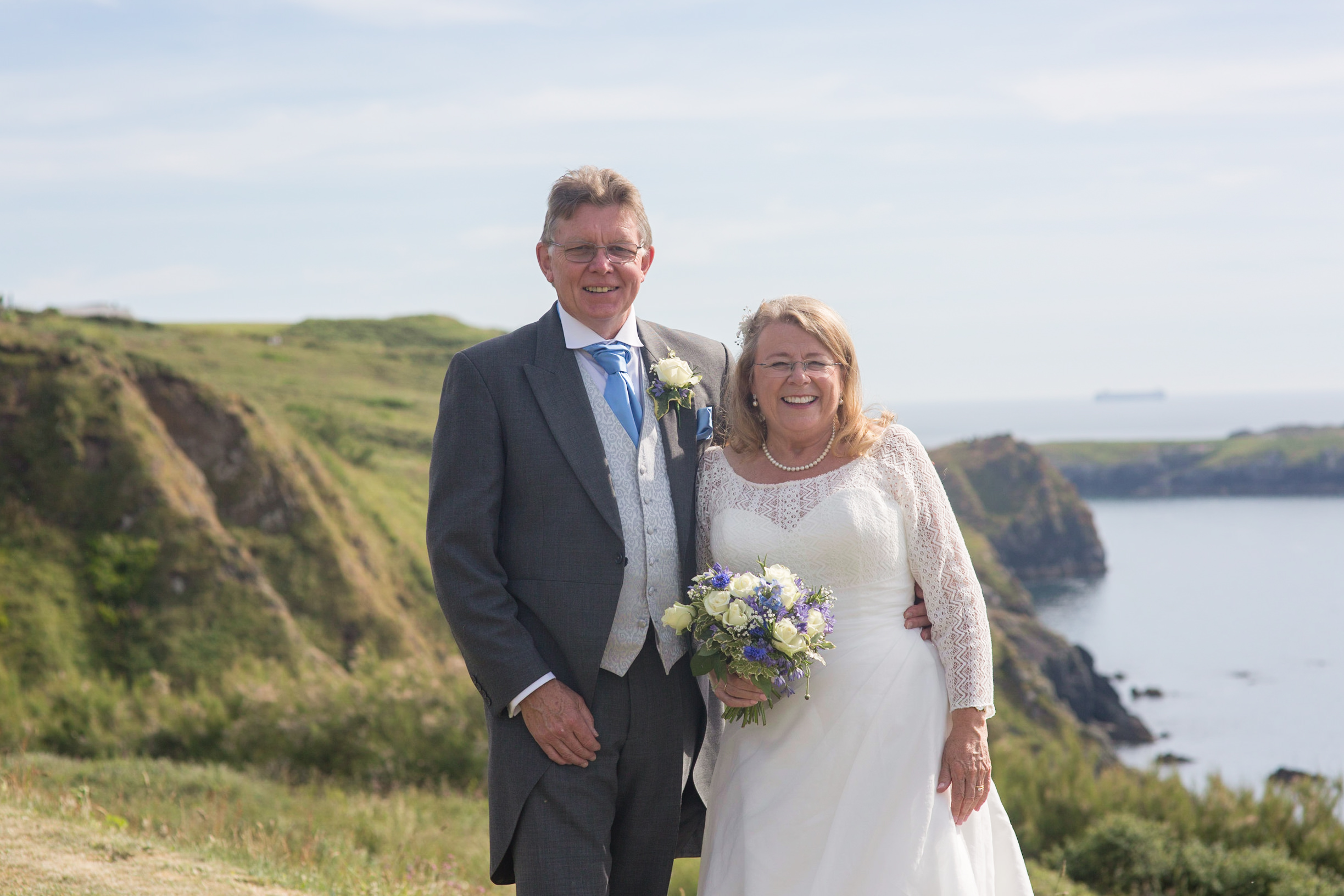 Mullion methodist church wedding Mullion wedding by Tom Robinson photography Cornwall wedding photographer
