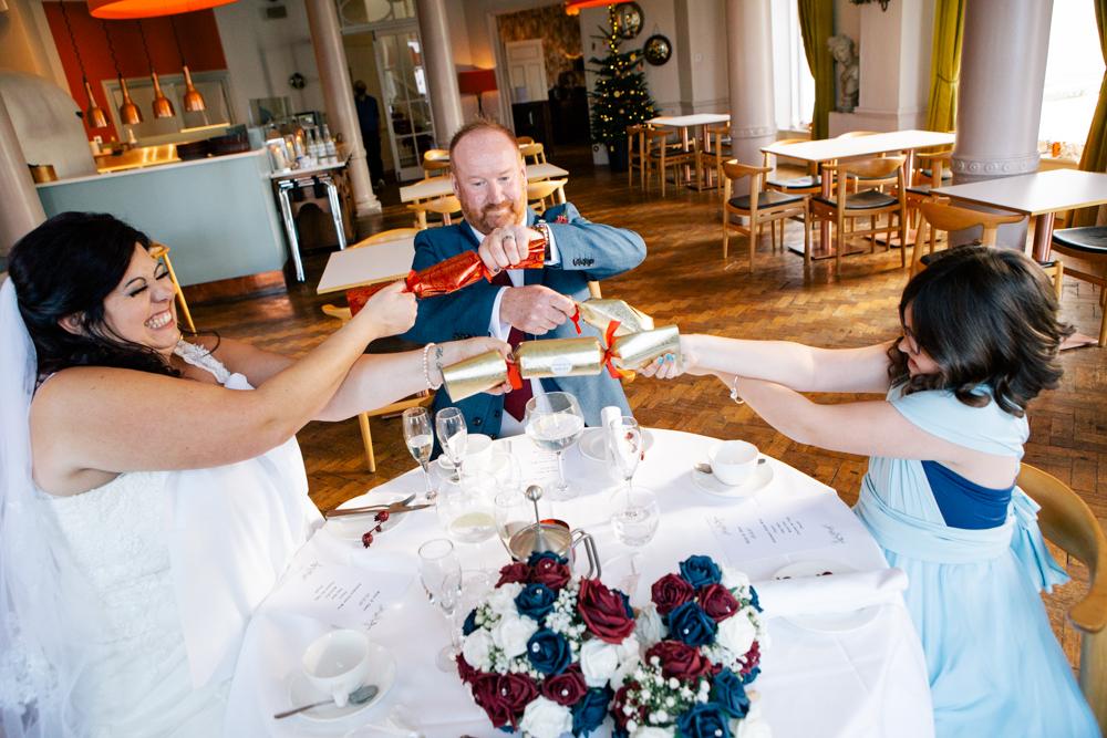 wedding at polurrian on the lizard