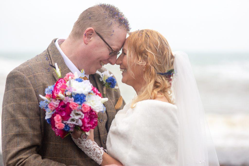 cadgwith wedding by Tom Robinson photography Cornwall wedding photographer